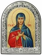 Раиса Святая мученица, икона с серебряной рамкой