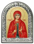 София Святая мученица, икона с серебряной рамкой