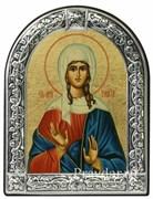 Таисия Святая мученица, икона с серебряной рамкой