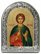 Анатолий Святой мученик, икона с серебряной рамкой