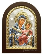 Вифлеемская Божья Матерь, икона с серебряным окладом