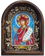 Анна Святая праведная, дивеевская икона из бисера