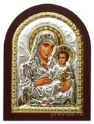 Иерусалимская Божья Матерь, икона с серебряным окладом