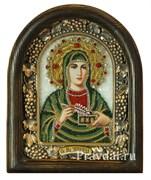 Зинаида Святая мученица, дивеевская икона из бисера