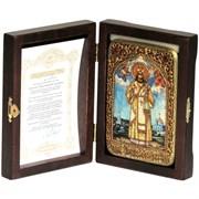Тихон Задонский икона ручной работы Old modern