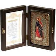 Екатерина Святая великомученица икона ручной работы Old modern