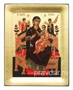 Всецарица образ Божьей Матери, копия чудотворной иконы с Афона