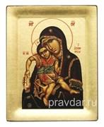 Достойно есть Божья Матерь, копия чудотворной иконы с Афона
