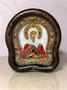 Аглаида Римская, дивеевская икона из бисера