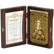Святая Эмилия Кесарийская (Каппадокийская) икона ручной работы под старину