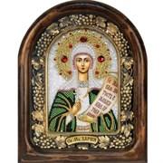 Дария Святая мученица, дивеевская икона из бисера