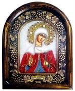 Алевтина Святая мученица, дивеевская икона из бисера