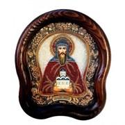 Даниил Московский, дивеевская икона из бисера ручной работы
