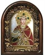 Димитрий (Дмитрий) Солунский, дивеевская икона из бисера ручной работы