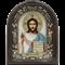 Господь Вседержитель, дивеевская икона из бисера ручной работы - фото 9565